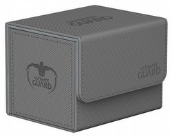 Ultimate Guard Sidewinder Xenoskin Grey Deck Case 100+