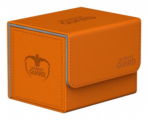Ultimate Guard Sidewinder Xenoskin Orange Deck Case 100+