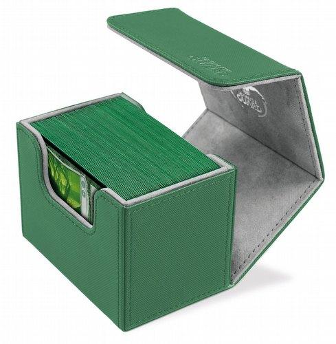 Ultimate Guard Sidewinder Xenoskin Green Deck Case 80+