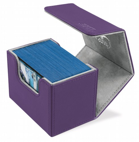 Ultimate Guard Sidewinder Xenoskin Purple Deck Case 80+