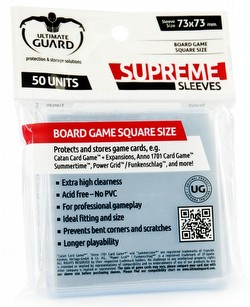 Ultimate Guard Supreme Square Board Game Sleeves Case [120 packs]