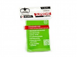 Ultimate Guard Supreme Standard Size Light Green Sleeves Pack