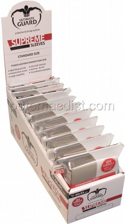 Ultimate Guard Supreme Standard Size Sand Sleeves Box [10 packs]
