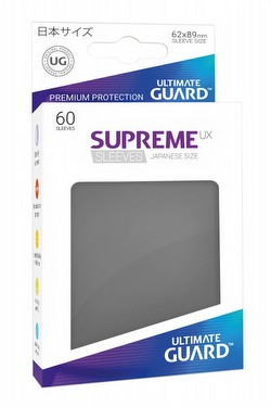 Ultimate Guard Supreme UX Standard Size Dark Grey Sleeves Pack