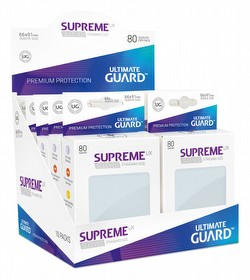 Ultimate Guard Supreme UX Standard Size Frosted Sleeves Box [10 packs]