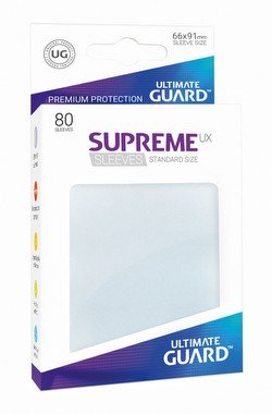 Ultimate Guard Supreme UX Standard Size Frosted Sleeves Pack