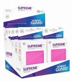 Ultimate Guard Supreme UX Standard Size Pink Sleeves Box [10 packs]
