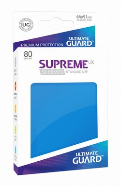 Ultimate Guard Supreme UX Standard Size Royal Blue Sleeves Pack