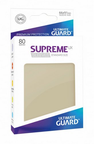 Ultimate Guard Supreme UX Standard Size Sand Sleeves Pack