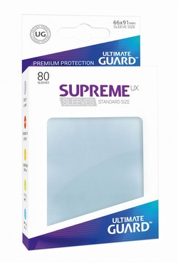 Ultimate Guard Supreme UX Standard Size Transparent Sleeves Pack