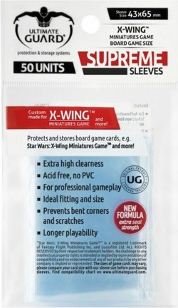 Ultimate Guard Supreme X-Wing Game Sleeves Pack