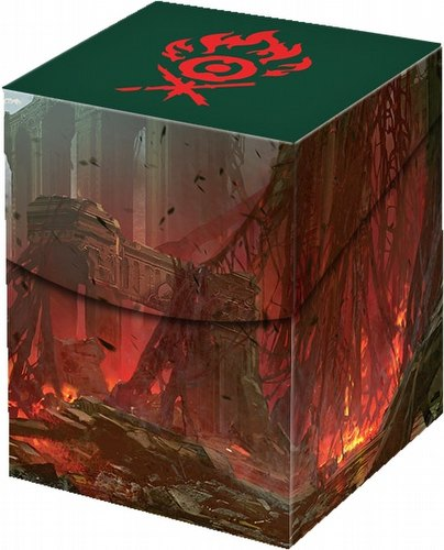Ultra Pro Pro 100+ Deck Box - Magic: The Gathering Guilds of Ravnica Gruul Clans