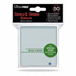 Ultra Pro Square Board Game Sleeves Pack [69mm x 69mm]