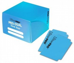 Ultra Pro Pro-Dual Light Blue Deck Box