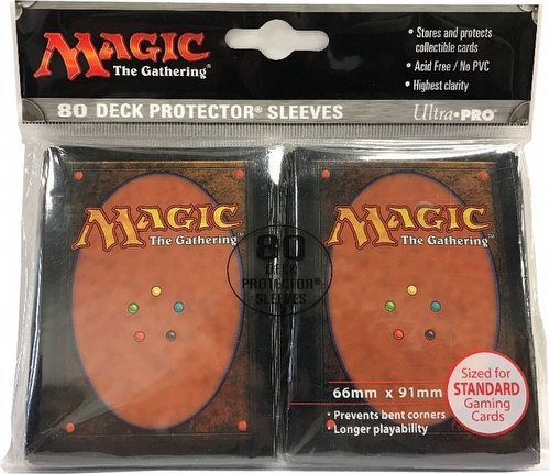 Ultra Pro Standard Size Deck Protectors Pack - Magic Cardback