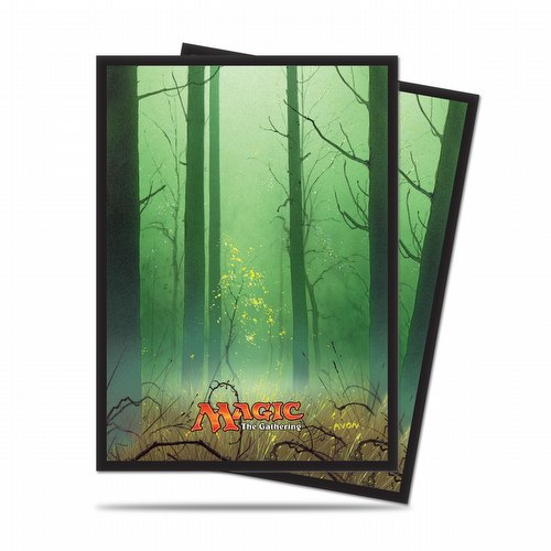 Ultra Pro Standard Size Deck Protectors - Mana 5 Forest Pack