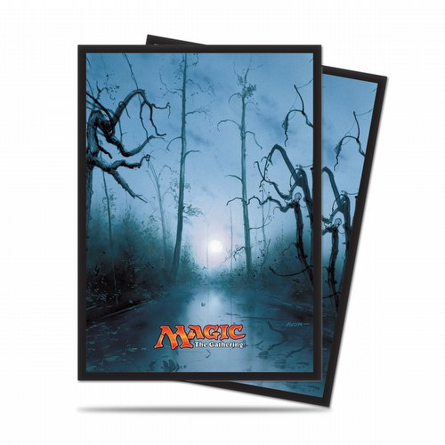 Ultra Pro Standard Size Deck Protectors - Mana 5 Swamp Pack