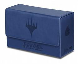 Ultra Pro Magic Mana Matte Blue Dual Flip Box Deck Box