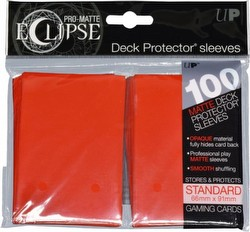 Ultra Pro Pro-Matte Eclipse Chroma Fusion Standard Size Deck Protectors Pack - Apple Red