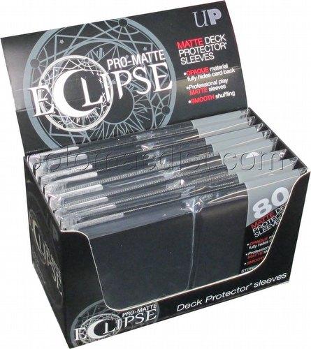 Ultra Pro Pro-Matte Eclipse Standard Size Deck Protectors Box - Black