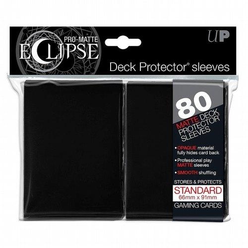 Ultra Pro Pro-Matte Eclipse Standard Size Deck Protectors Pack - Black