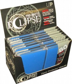 Ultra Pro Pro-Matte Eclipse Standard Size Deck Protectors Box - Blue