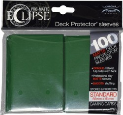 Ultra Pro Pro-Matte Eclipse Chroma Fusion Standard Size Deck Protectors Pack - Forest Green
