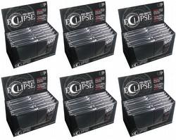 Ultra Pro Pro-Matte Eclipse Chroma Fusion Standard Size Deck Protectors Case - Jet Black [6 boxes]