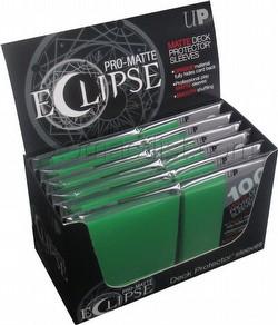 Ultra Pro Pro-Matte Eclipse Chroma Fusion Standard Size Deck Protectors Box - Lime Green