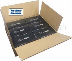 Ultra Pro Pro-Matte Eclipse Chroma Fusion Standard Size Deck Protectors Case [Mixed Colors/6 boxes]