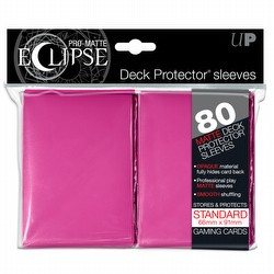Ultra Pro Pro-Matte Eclipse Standard Size Deck Protectors Pack - Pink