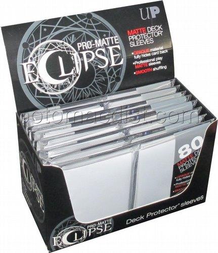 Ultra Pro Pro-Matte Eclipse Standard Size Deck Protectors Box - White
