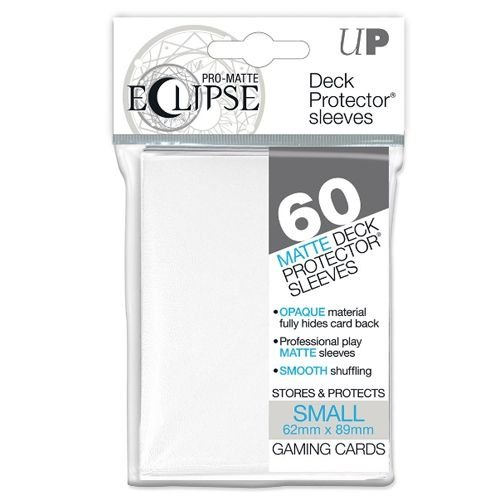 Ultra Pro Pro-Matte Eclipse Small/Yu-Gi-Oh Size Deck Protectors Pack - White