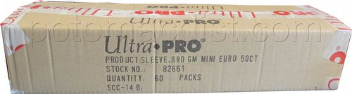 Ultra Pro Mini European Board Game Sleeves Case [44mm x 68mm/5 boxes]