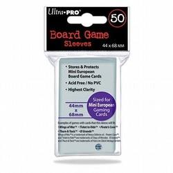 Ultra Pro Mini European Board Game Sleeves Pack [44mm x 68mm]