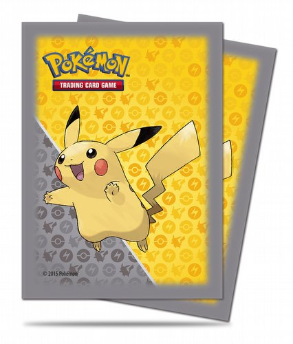 Ultra Pro Pokemon Pikachu Grey Deck Protectors Box