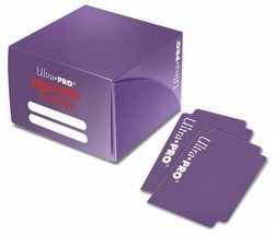 Ultra Pro Pro-Dual Purple Deck Box