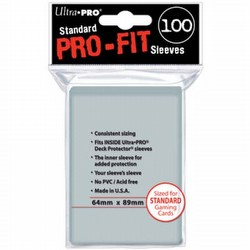Ultra Pro Standard Pro-Fit Sleeves Pack