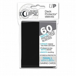 Ultra Pro Pro-Matte Eclipse Small/Yu-Gi-Oh Size Deck Protectors Pack - Black