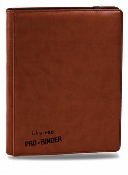 Ultra Pro 9-Pocket Premium Pro Brown Binder