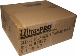 Ultra Pro Standard Size Deck Protectors Case - Blue [60 packs/66mm x 91 mm]