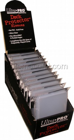 Ultra Pro Standard Size Deck Protectors Box - Clear [12 packs/box]