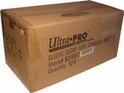 Ultra Pro Standard Size Deck Protectors Case - Clear [10 boxes]