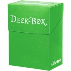 Ultra Pro Light Green Deck Box