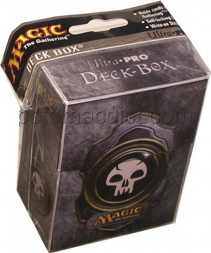 Ultra Pro Deck Box - Black Magic Mana Symbol 3