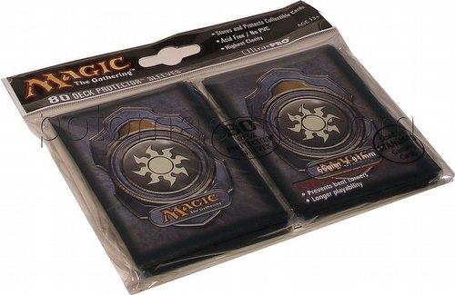 Ultra Pro Standard Size Deck Protectors - White Magic Mana Symbol Version 3 Pack