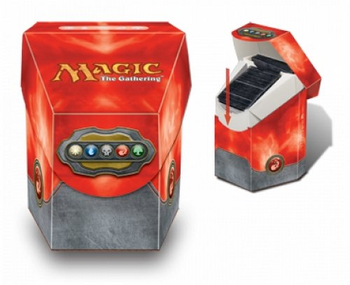 Ultra Pro Magic Mana Red Commander Deck Box