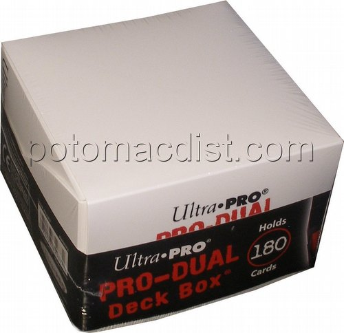 Ultra Pro Pro-Dual White Deck Box