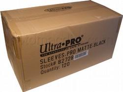 Ultra Pro Pro-Matte Standard Size Deck Protectors Case - Black [10 boxes]