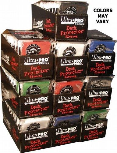 Ultra Pro Pro-Matte Standard Size Deck Protectors Case - Mixed Colors [10 boxes]